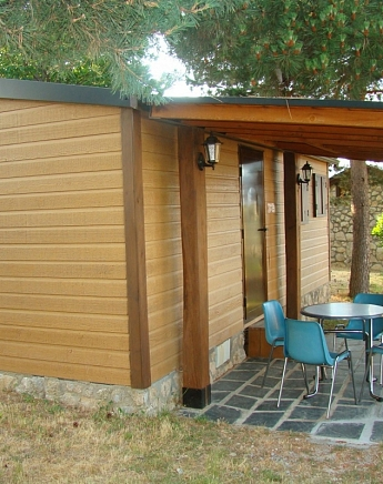 Cabins for 3 people